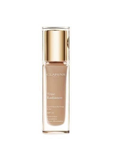 Clarins Clarins Fondöten - True Radiance Foundation Spf 15 112 Amber 30 ml Ten